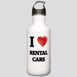 I Love Rental Cars Stainless Water Bottle 1.0L