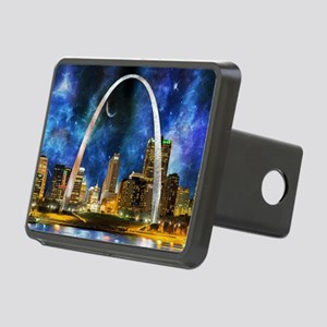 Spacey St. Louis Skyline Hitch Cover