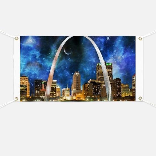 Spacey St. Louis Skyline Banner