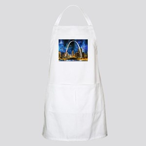 Spacey St. Louis Skyline Apron