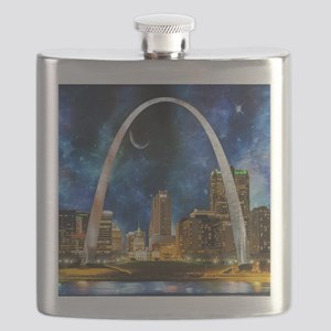 Spacey St. Louis Skyline Flask