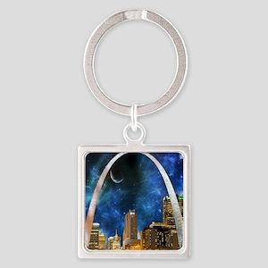 Spacey St. Louis Skyline Keychains