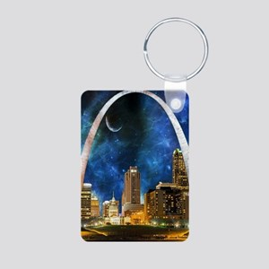 Spacey St. Louis Skyline Keychains