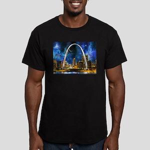 Spacey St. Louis Skyline T-Shirt