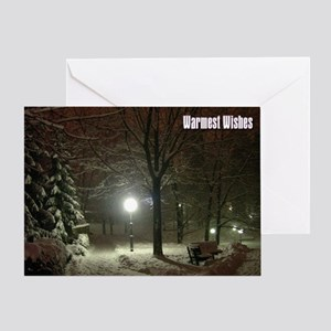Christmas Warmest Wishes Greeting Card
