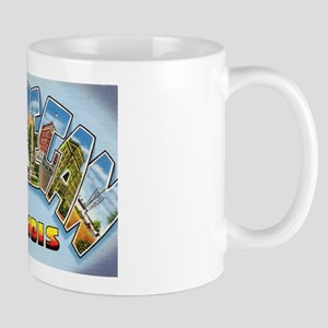 Waukegan Illinois Greetings Mug