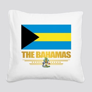 The Bahamas Square Canvas Pillow