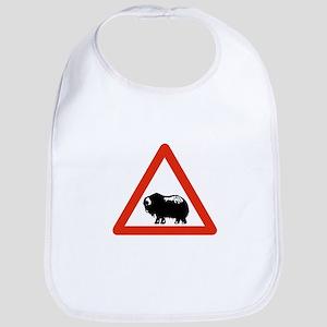 Caution Musk Oxen, Greenland Bib