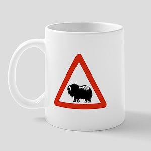 Caution Musk Oxen, Greenland Mug
