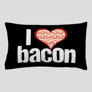 I Heart Bacon Pillow Case