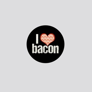 I Heart Bacon Mini Button