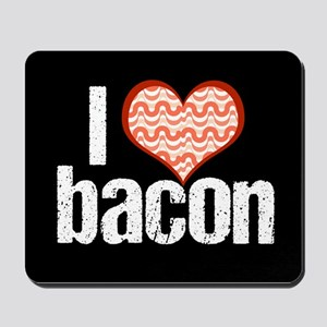 I Heart Bacon Mousepad