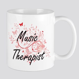 Music Therapist Artistic Job Design with Butt Mugs