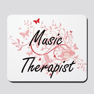 Music Therapist Artistic Job Design with Mousepad