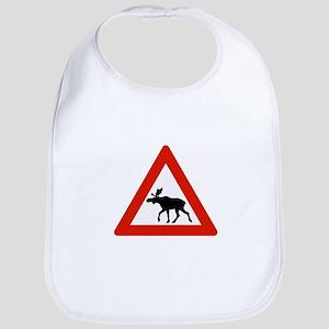 Caution Elks, Norway Bib