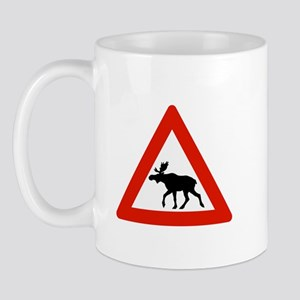 Caution Elks, Norway Mug