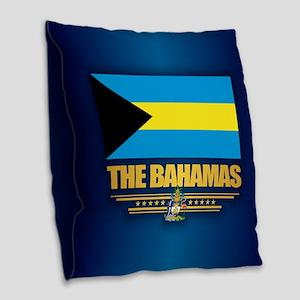 The Bahamas Burlap Throw Pillow