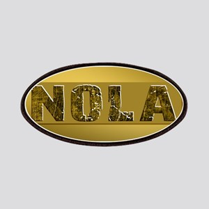 NOLA BLACK AND GOLD 4 Patch