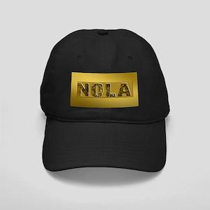 NOLA BLACK AND GOLD 4 Black Cap