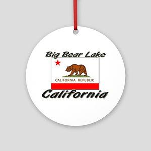 Big Bear Lake California Ornament (Round)