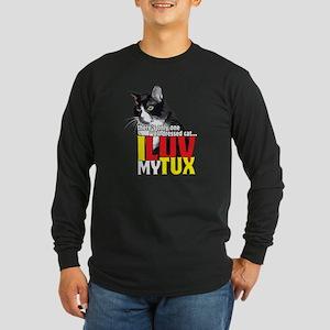 I Love My Tuxedo Cat Long Sleeve T-Shirt