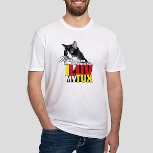 I Luv My Tuxedo Cat T-shirt T-Shirt