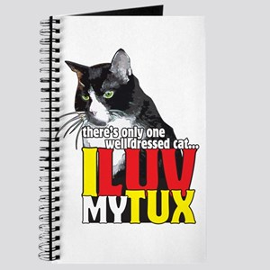 I Love My Tuxedo Cat Journal