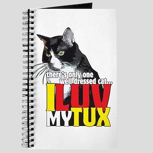 I Love My Tuxedo Cat Journal