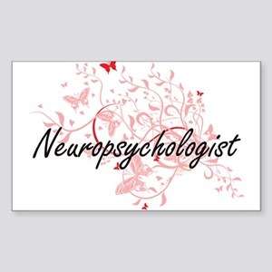 Neuropsychologist Artistic Job Design with Sticker