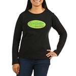 Scrapbooker gone wild! Women's Long Sleeve Dark T-
