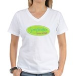 Scrapbooker gone wild! Women's V-Neck T-Shirt