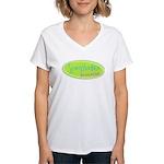 Scrapbooker gone wild! Women's V-Neck T-Shirt