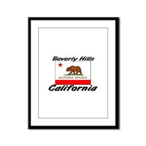 Beverly Hills California Framed Panel Print