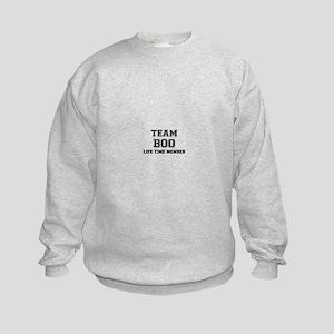 Team BOO, life time member Kids Sweatshirt