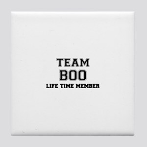 Team BOO, life time member Tile Coaster