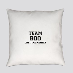 Team BOO, life time member Everyday Pillow
