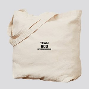 Team BOO, life time member Tote Bag