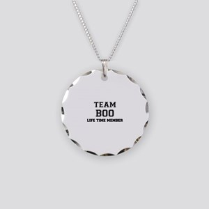 Team BOO, life time member Necklace Circle Charm