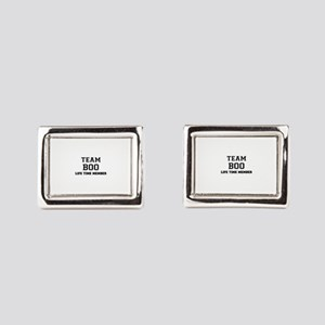 Team BOO, life time member Rectangular Cufflinks