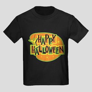 Happy Halloween Kids Dark T-Shirt