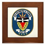 USS Richmond K. Turner (DLG 20) Framed Tile