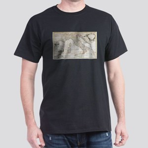 Vintage Map of Italy (1714) T-Shirt