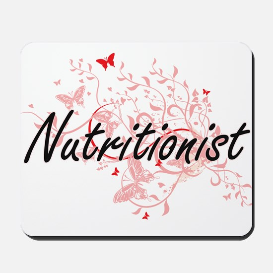 Nutritionist Artistic Job Design with Bu Mousepad