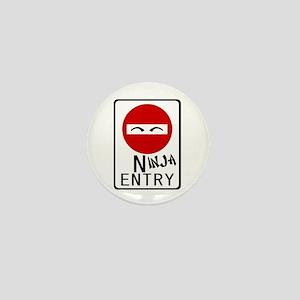 Ninja Entry Mini Button