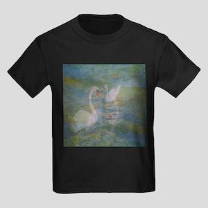Swans At Play T-Shirt