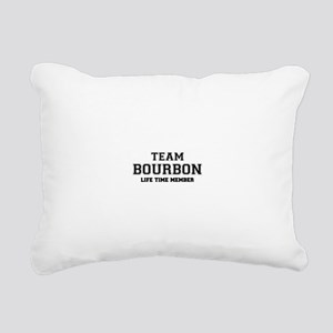 Team BOURBON, life time Rectangular Canvas Pillow