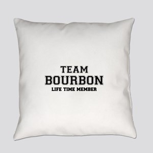 Team BOURBON, life time member Everyday Pillow