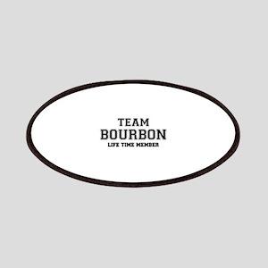 Team BOURBON, life time member Patch