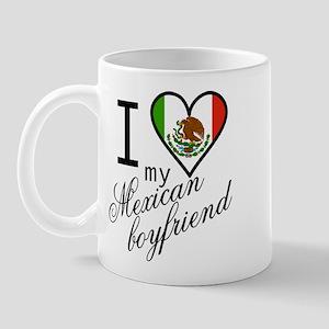 I Love Heart my Mexican Boyfr Mug
