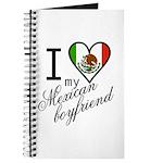 I Love Heart my Mexican Boyfr Journal